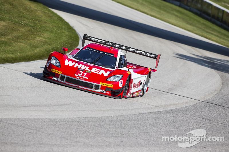 #31 Marsh Racing 雪佛兰克尔维特 DP: 埃里克·库兰, 布特·弗里斯塞尔