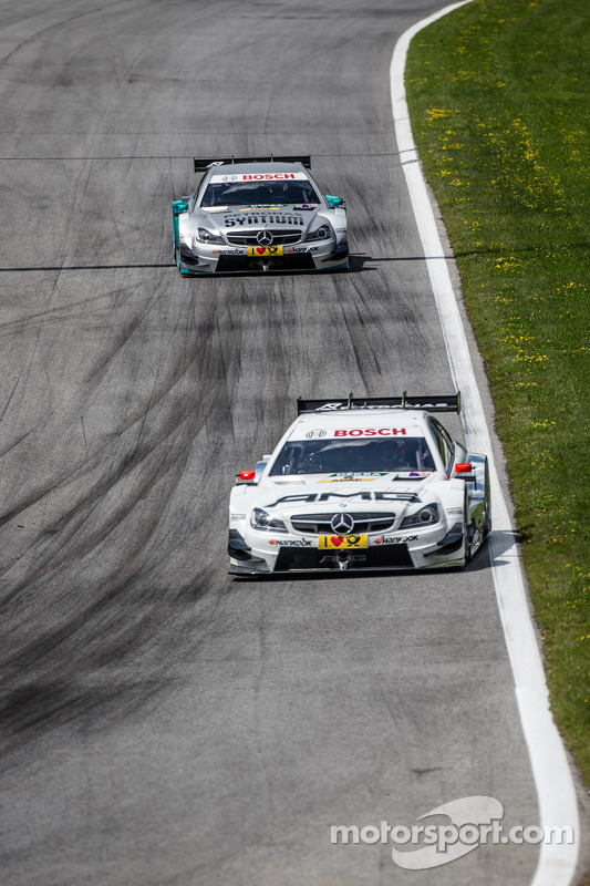 Paul Di Resta, HWA Mercedes DTM AMG C-Coupé