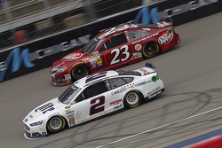 Alex Bowman, Toyota and Brad Keselowski, Team Penske Ford