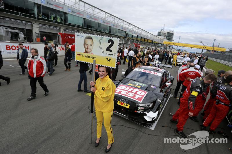 Grid kızı: Timo Scheider, Audi Sport Takımı Phoenix Audi RS 5 DTM