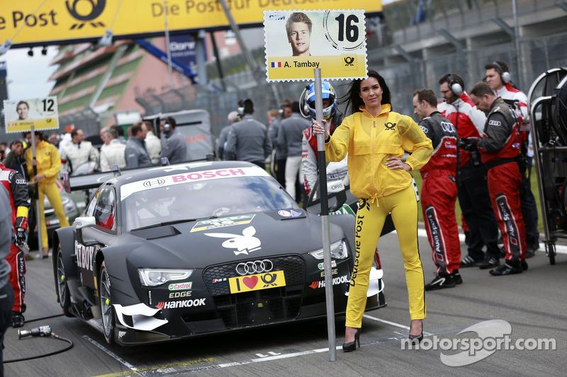 Grid kızı: Adrien Tambay, Audi Sport Takımı Abt Sportsline Audi RS 5 DTM