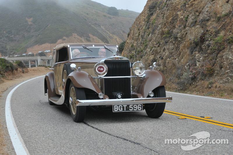 1934 Hispano-Suiza K6 Fernandez et Darrin Cabriolet