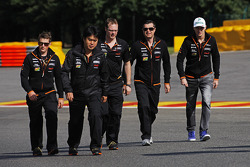 Streckenbegehung: Nico Hülkenberg, Sahara Force India F1