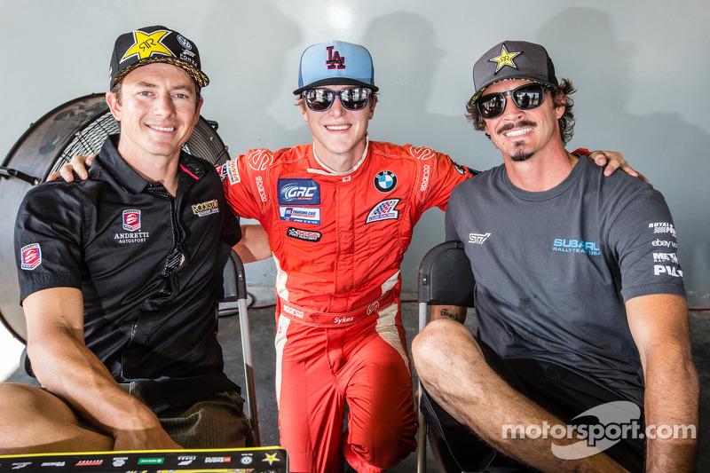 #34 大众 安德雷蒂 Rallycross 大众 Polo: 泰纳·福斯特, #6 DTV Solutions: 杰夫·赛克斯 和 #81 斯巴鲁美国拉力车队 斯巴鲁 WRX STi: 布基·拉塞克