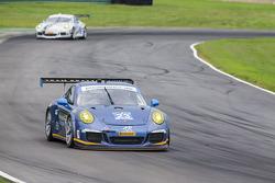#23 Team Seattle/Alex Job Racing 保时捷 911 GT America: 伊恩·詹姆斯, 马里奥·法恩巴赫