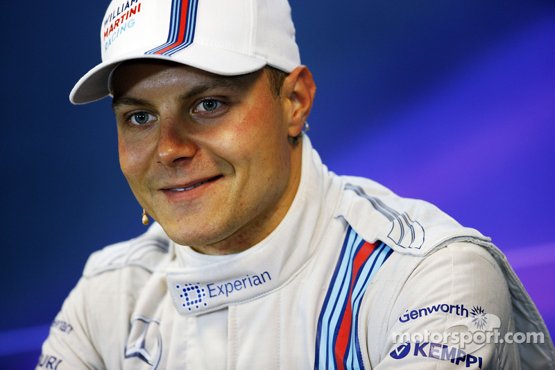 Valtteri Bottas, Williams FW36 alla conferenza stampa FIA