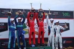 #62 Risi Competizione Ferrari F458: Giancarlo Fisichella, Pierre Kaffer, #17 Team Falken Tire, Porsche 911 GT3 RSR: Wolf Henzler, Bryan Sellers, #56 BMW Team RLL BMW Z4 GTE: Dirk Müller, John Edwards