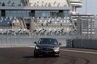Sebastian Vettel Sochi Autodrom pistinde