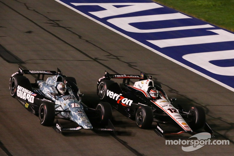 Graham Rahal, Rahal Letterman Racing Honda e Will Power, Corsa di Penske Chevrolet