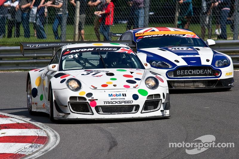 #31 Trackspeed 保时捷 997 GT3 R GT3: David Ashburn, 尼克·坦迪