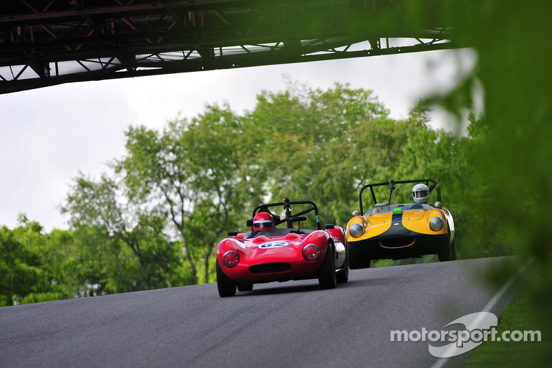 1967 Ginetta G4 and a 1959 Elva Courier