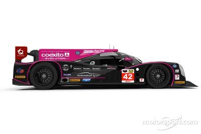 Oak Racing'in Ligier JS P2-HPD