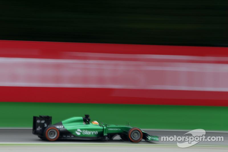 Roberto Merhi, Caterham, piloto de testes