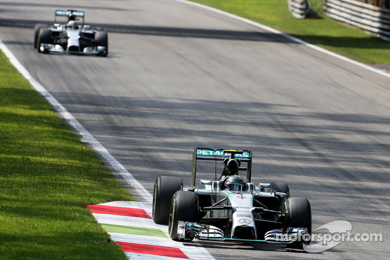 Nico Rosberg, da Mercedes AMG F1 Team 07