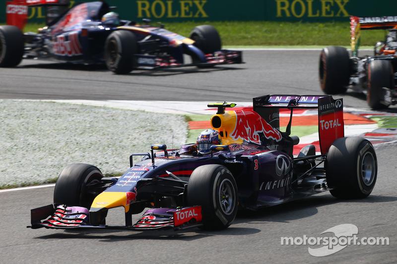 Даниэль Риккардо. ГП Италии, Воскресная гонка.