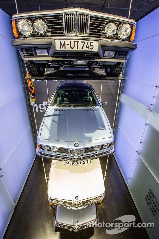 BMW four main Series em exposição