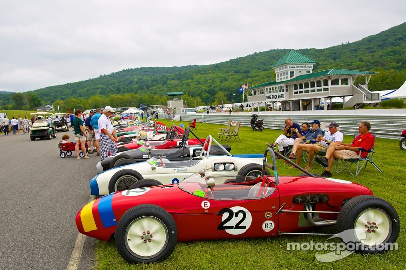 Sunday in the Park Concours con Formula Juniors