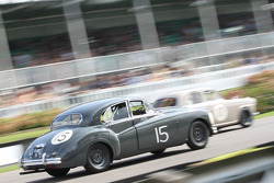 1955 Jaguar MKVII: Amanda Stretton