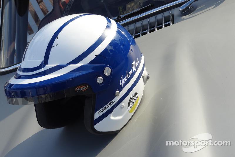 Casco di Jochen Mass