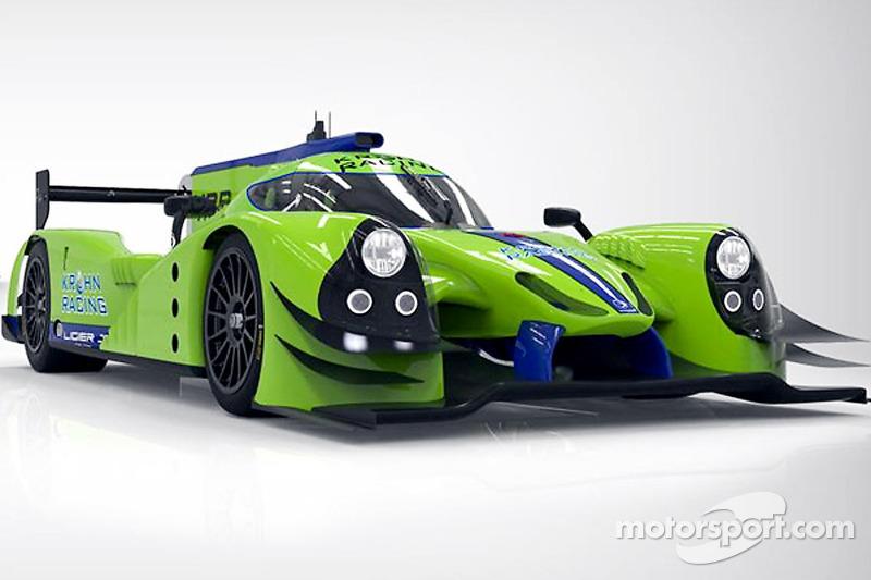 Krohn Racing Ligier JS P2 Judd