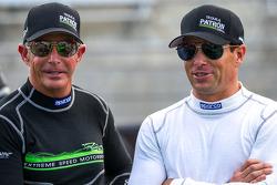 Scott Sharp e Ed Brown