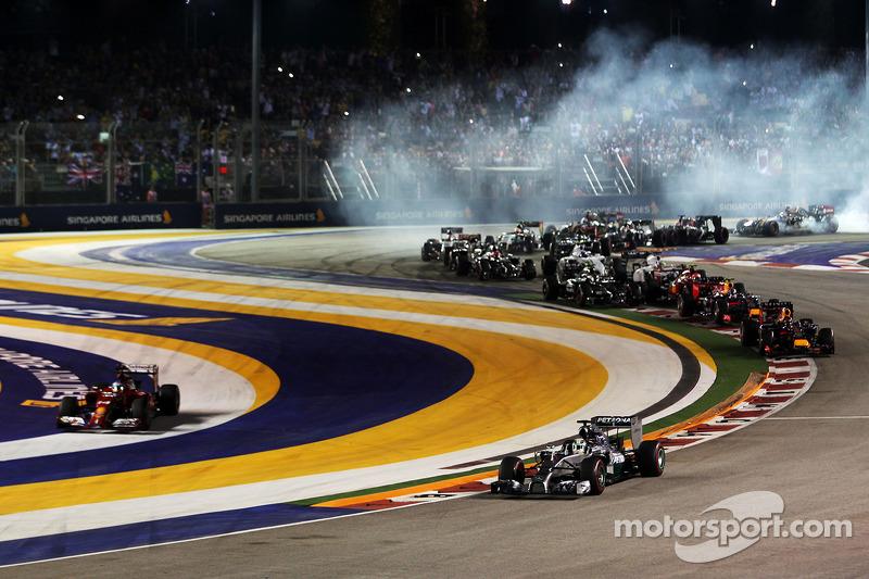 2014 Singapur GP: Lewis Hamilton, Mercedes AMG F1 W05