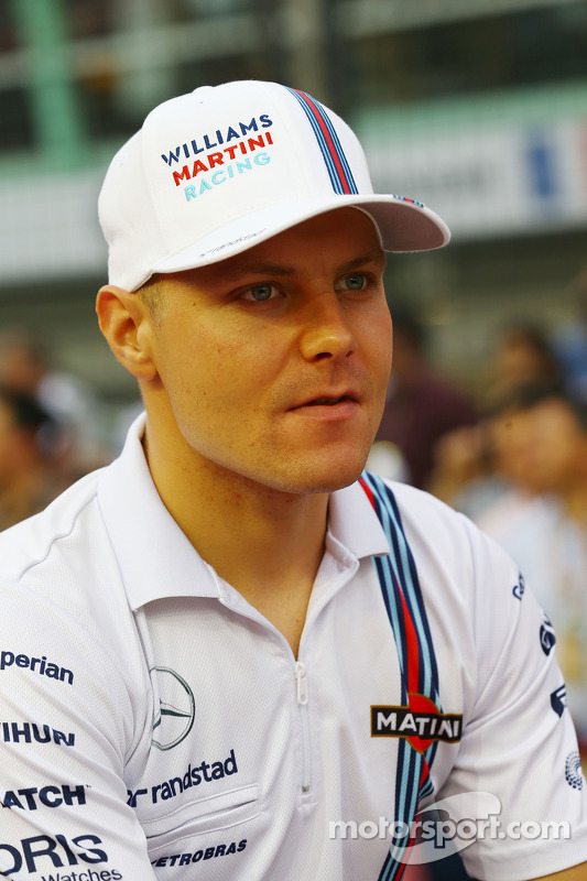 Valtteri Bottas, Williams na parada dos pilotos
