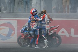 Vencedor corrida #1 Suzuki: Vincent Philippe, Anthony Delhalle, Erwan Nigon