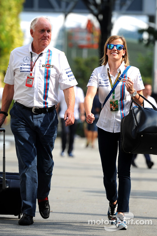 Edward Charlton, Williams com Susie Wolff, Williams
