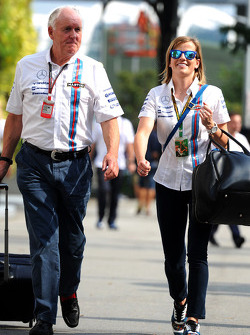 Edward Charlton, Williams; Susie Wolff, Williams, Entwicklungsfahrerin