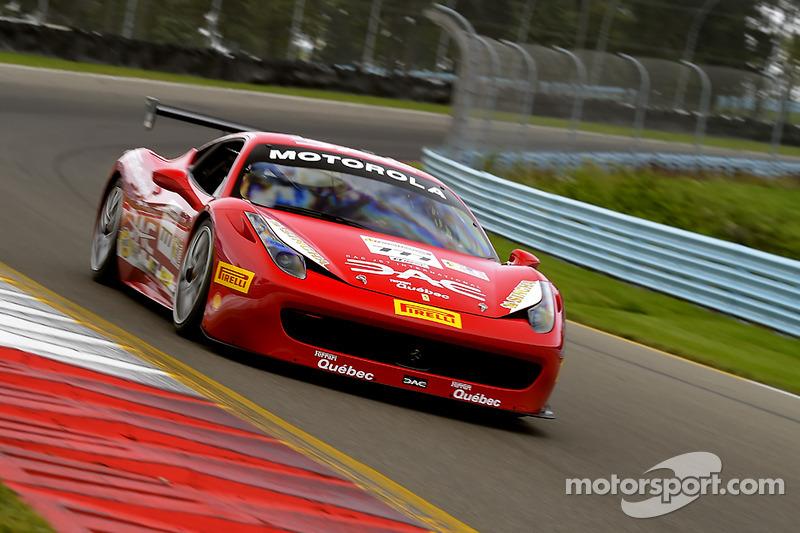 Watkins Glen Race Track >> #777 Ferrari Quebec Ferrari 458: Emmanuel Anassis at Watkins Glen