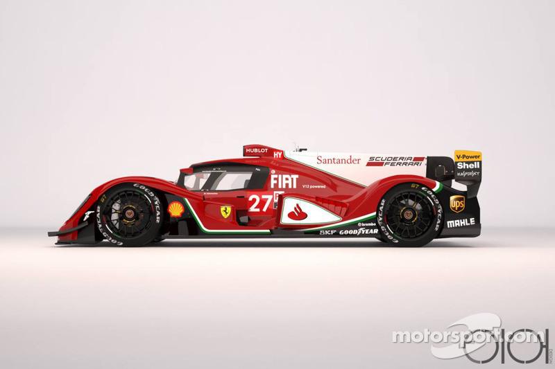 Ferrari LMP1, Oriol Folch Garcia konsepti