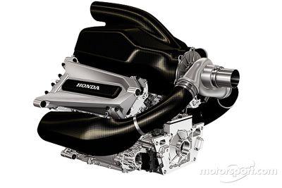 Honda Formula One power unit presentation