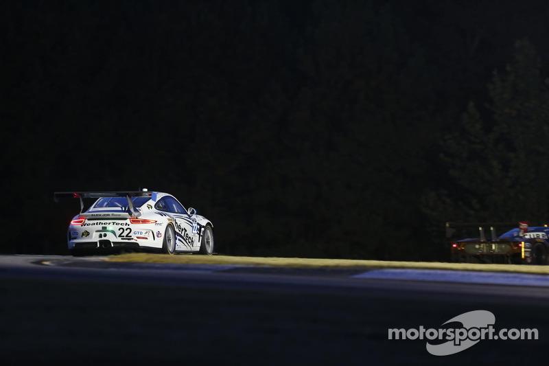 #22 Alex Job Racing Porsche 911 GT America: Cooper MacNeil, Leh Keen, Craig Stanton