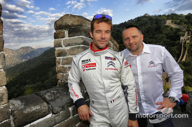 Sébastien Loeb, Citroen C-Elysee WTCC, Citroen Total WTCC con Yves Matton