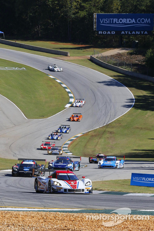 Via: #5 Action Express Racing Corvette DP: Joao Barbosa, Christian Fittipaldi, Sébastien Bourdais al