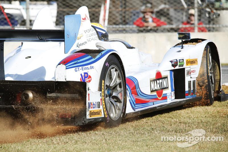 Problemi per # 8 Starworks Motorsport ORECA FLM09: Mirco Schultis, Renger van der Zande, Alex Popow