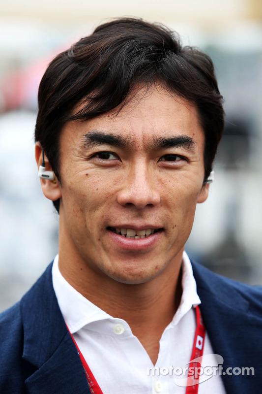 Takuma Sato, no grid