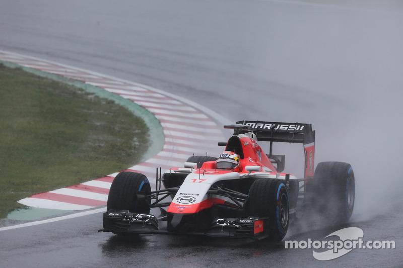 La lluvia afecta a la carrera de Suzuka