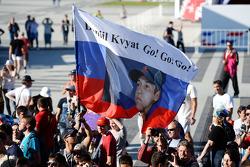 Una bandiera per Daniil Kvyat, Scuderia Toro Rosso