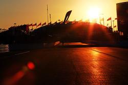 Sochi Autodrom bei Sonnenuntergang