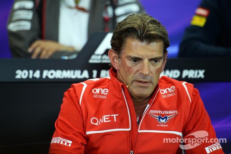 Graeme Lowdon, Marussia F1 Takımı Baş Yöneticisi FIA Basın Konferansı'nda