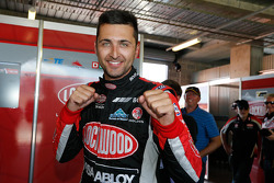 Pole position Fabian Coulthard