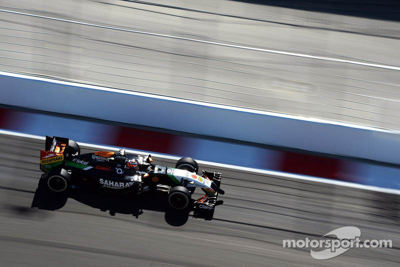 Nico Hülkenberg, Sahara Force India F1, VJM07
