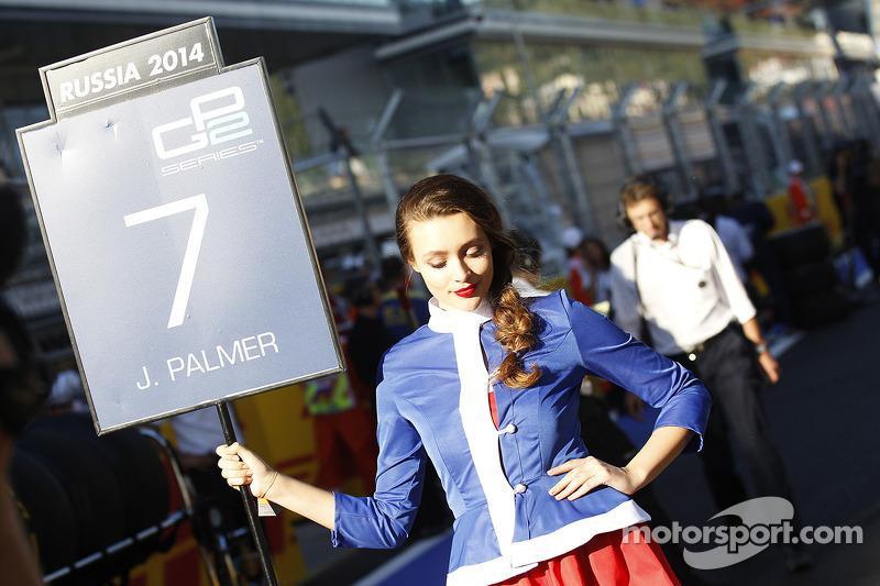 Grid girl de Jolyon Palmer