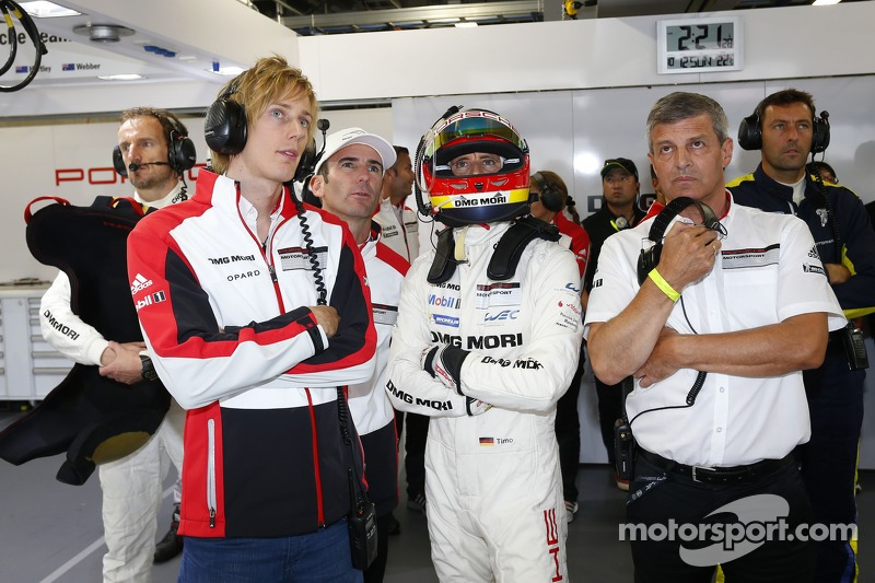 Brendon Hartley and Timo Bernhard