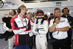 Brendon Hartley and Timo Bernhard