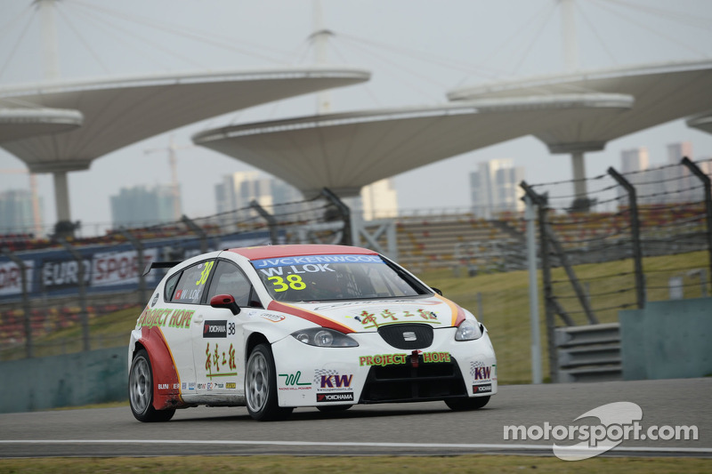William Lok, SEAT Leon WTCC, Campos Racing