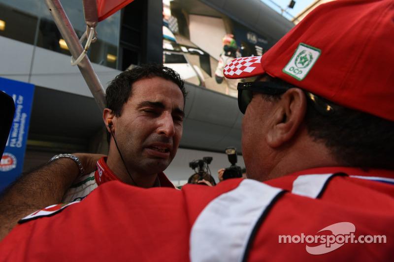 Vincitore race 2 Mehdi Bennani, Honda Civic WTCC, Proteam Racing