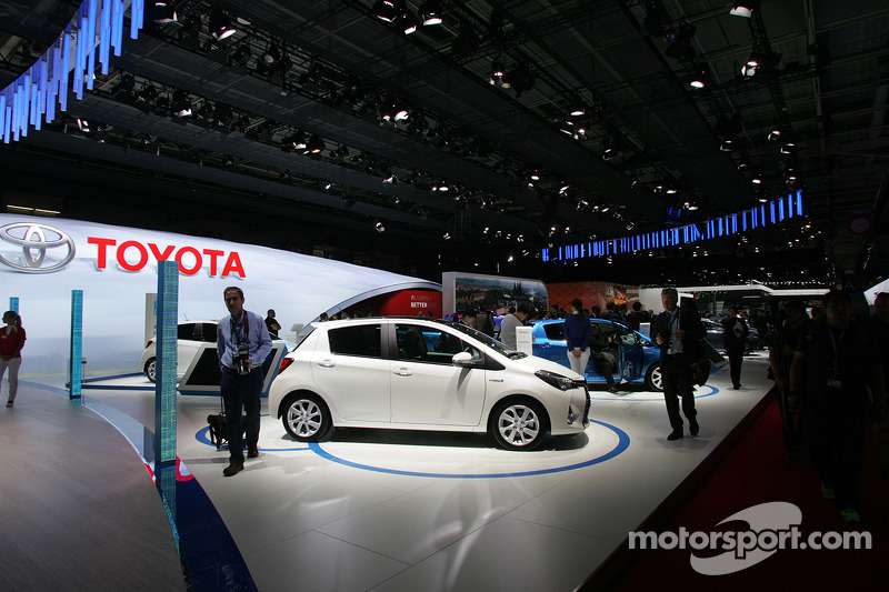 Toyota stand